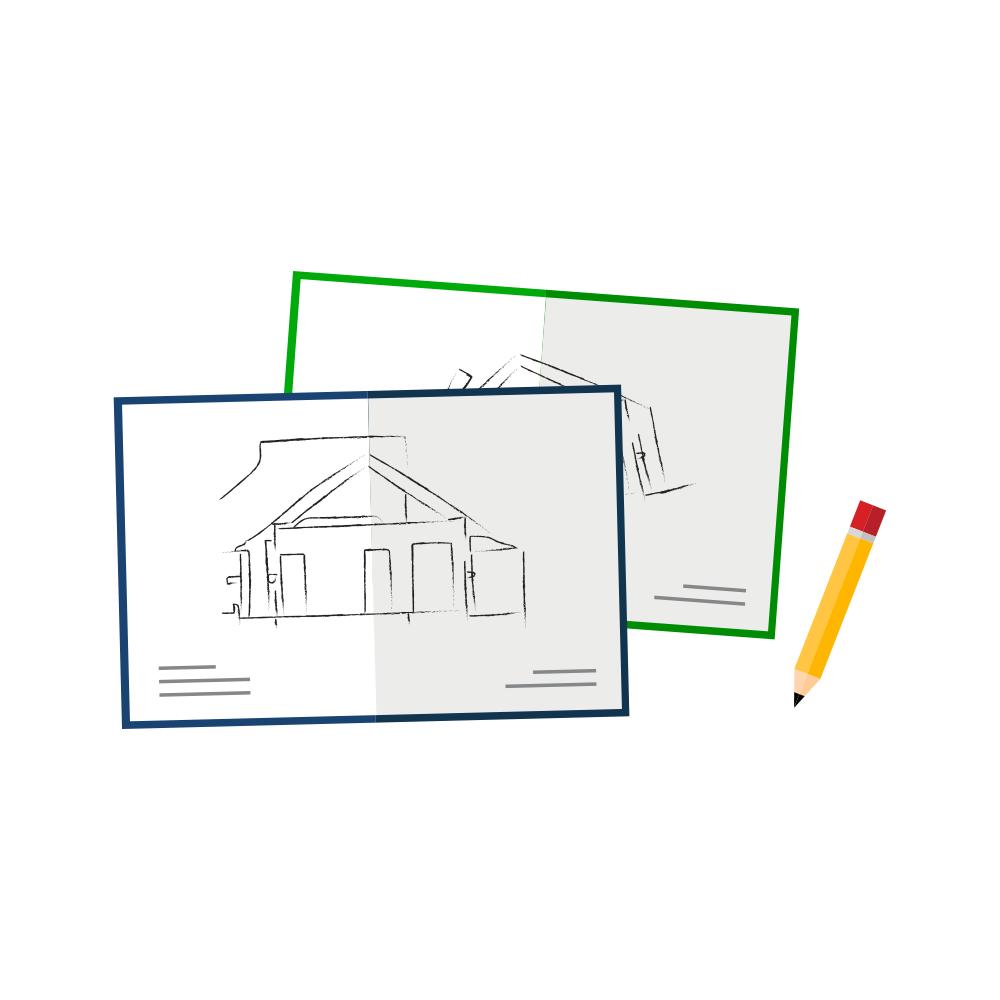 vergunningstekeningen, verbouwen, bouwen, bouwkundige inspectie, wonen in de regio