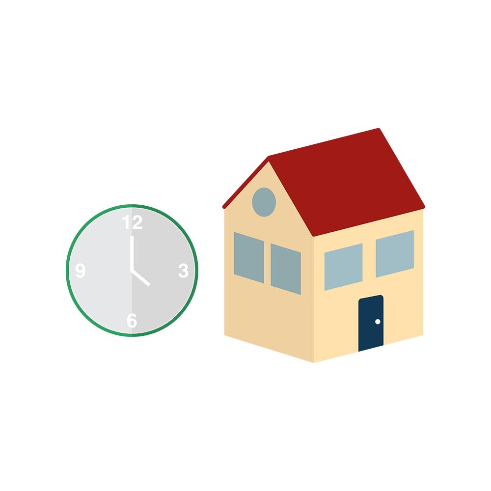 hoe lang duurt het om een hypotheek af te sluiten, persoonlijke situatie, wonen in de regio, termijn