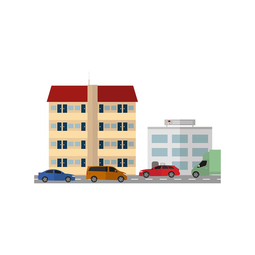 wonen in stedelijk gebied, locatie, wonen in de regio